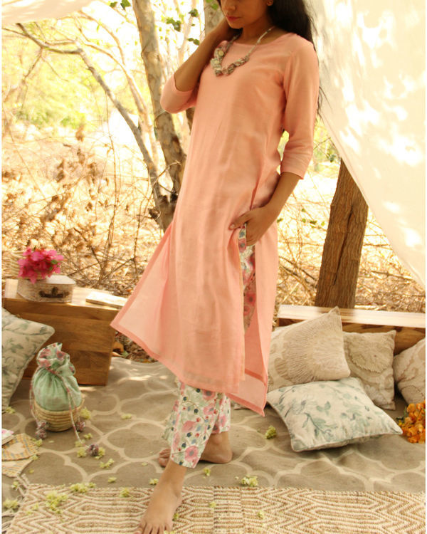 Ice cream Kurta Set 1