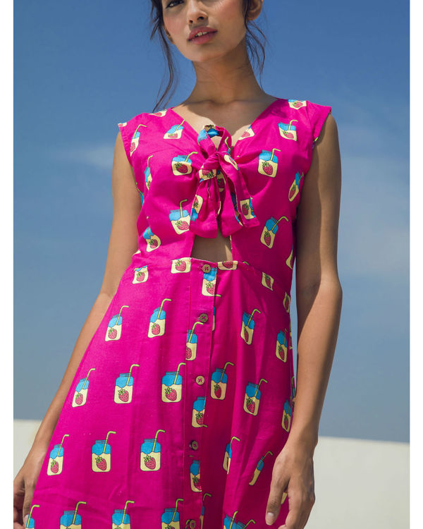 Pink mojito dress 1