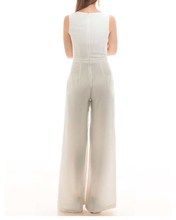 White Brooke jumpsuit 1