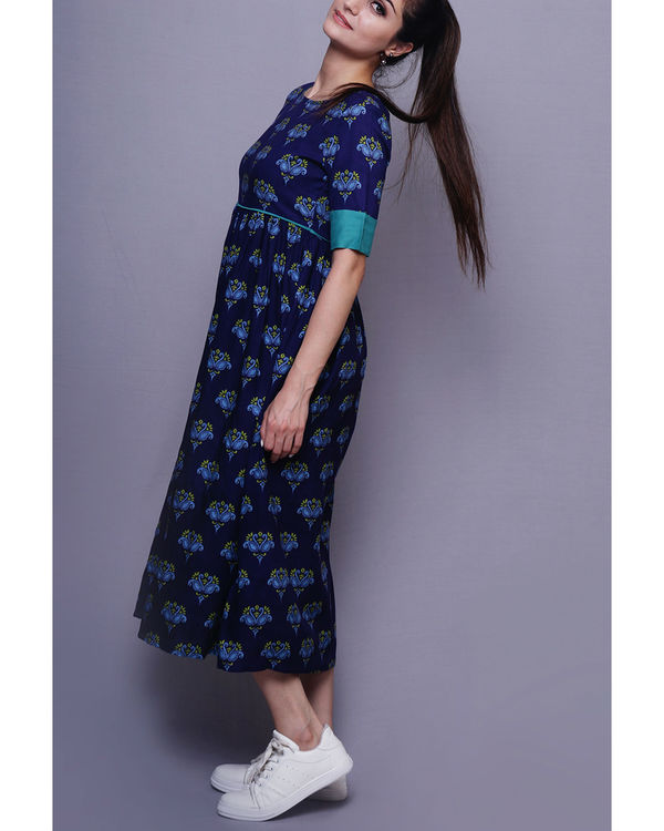Blue swan dress 3