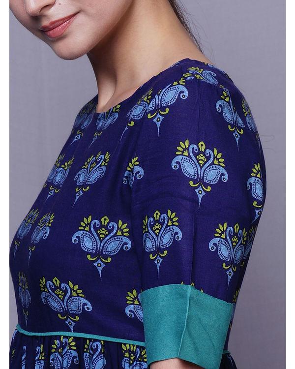 Blue swan dress 1