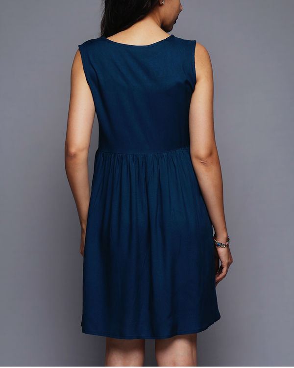 Tasseled short dress 3