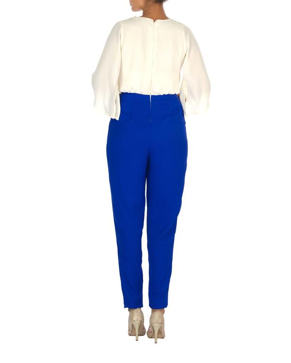 Caroline color block jumpsuit 1