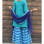 Thumb ikkat gharara set 3
