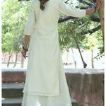 Thumb white gota double dress 3