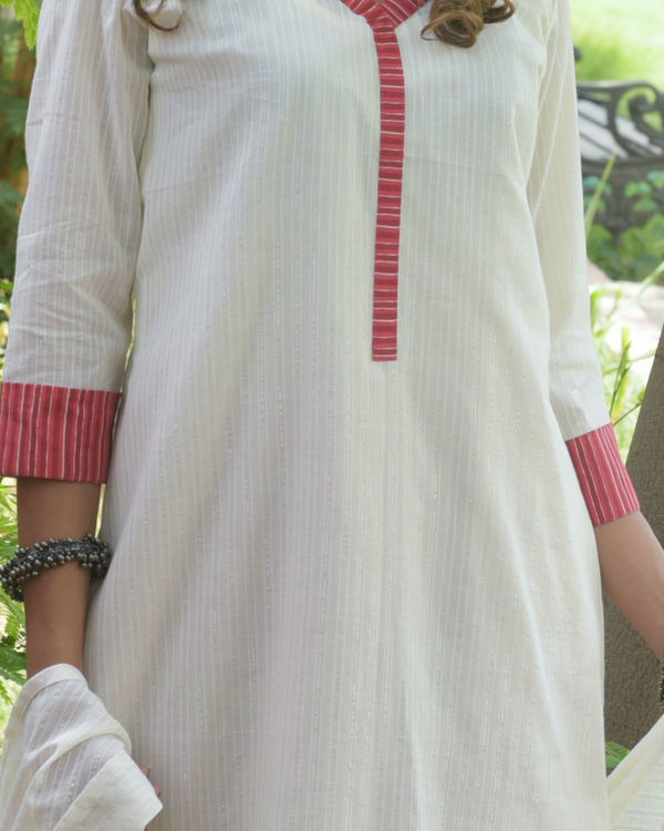 Asymmetric kurta set 1