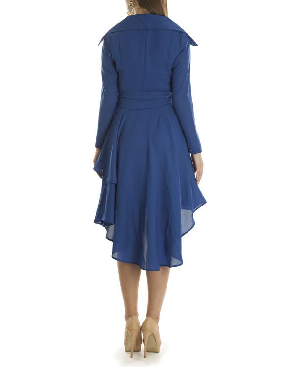 Olivia blue coat dress 1