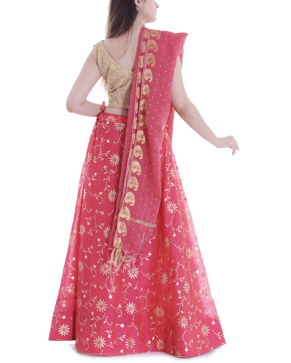 Strawberry lehenga set 3