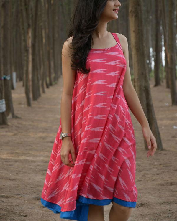 Pink swing dress 1