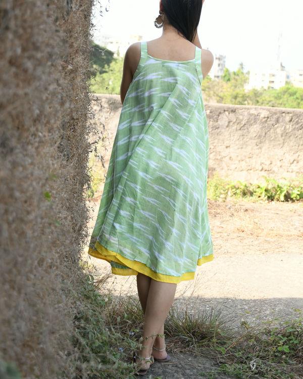 Pastel green swing dress 1
