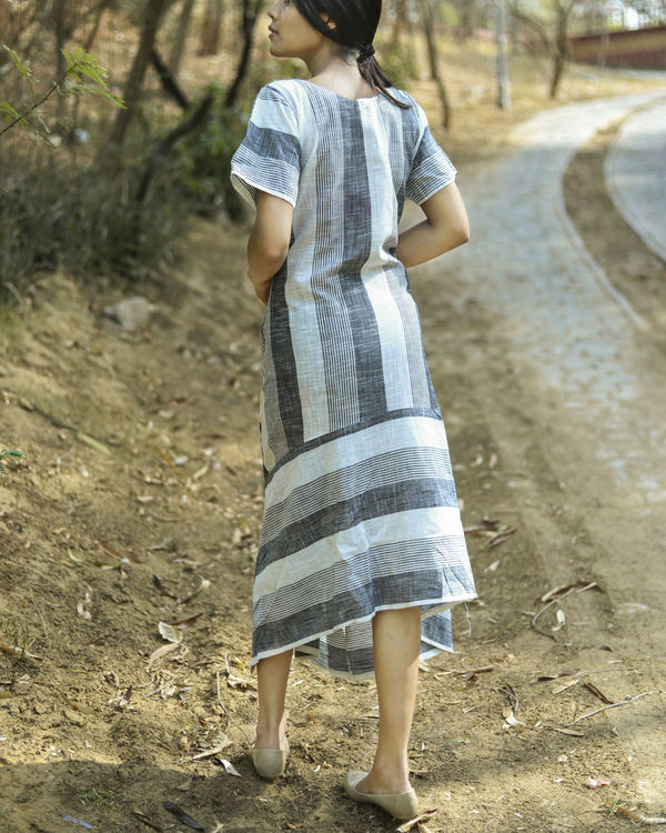 Multi stripes dress 1