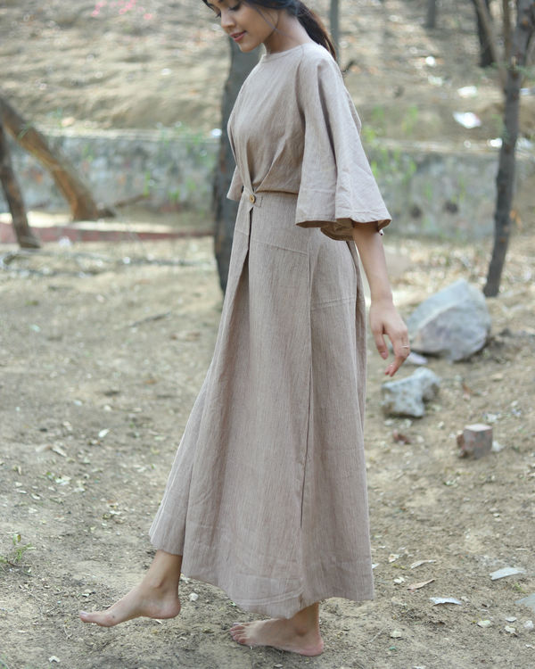 Rusty flared dress 1