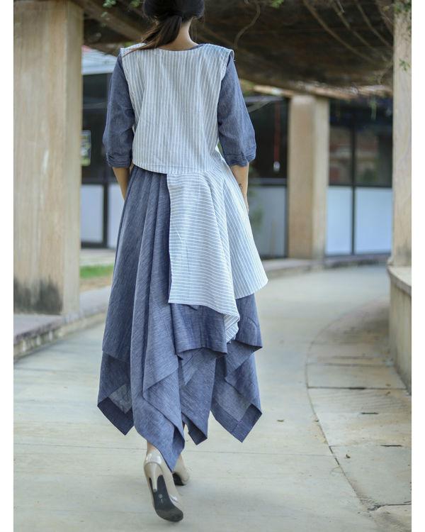 Dual handkerchief dress 2