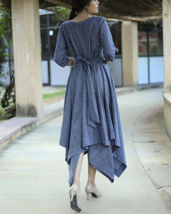Dual handkerchief dress 1