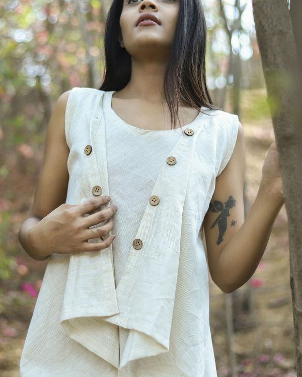 Wavy button dress 2