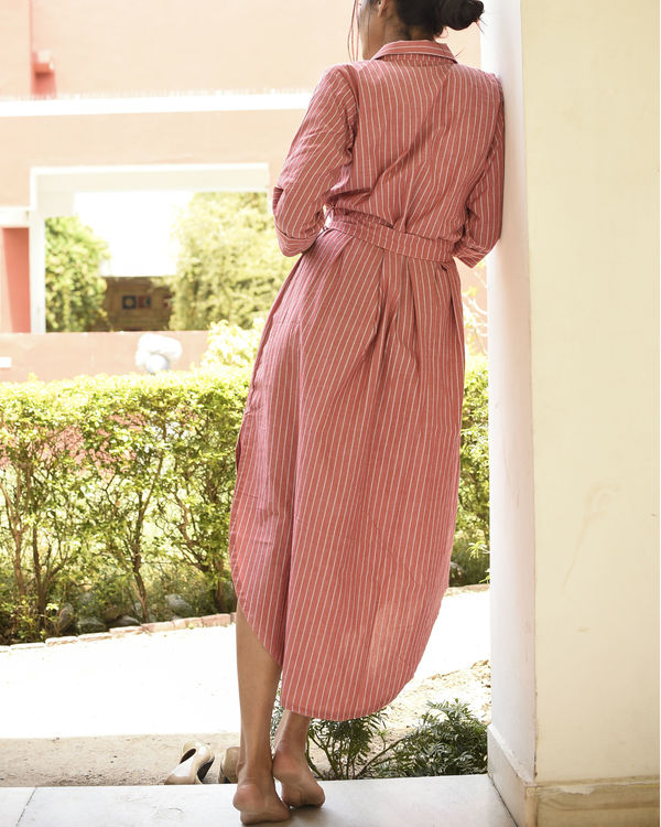 Pink soothing dress 2