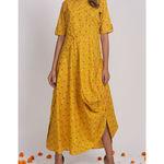 Thumb ikkat chola dress 1
