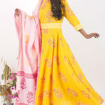 Thumb heyday cotton dress and dupatta set 2