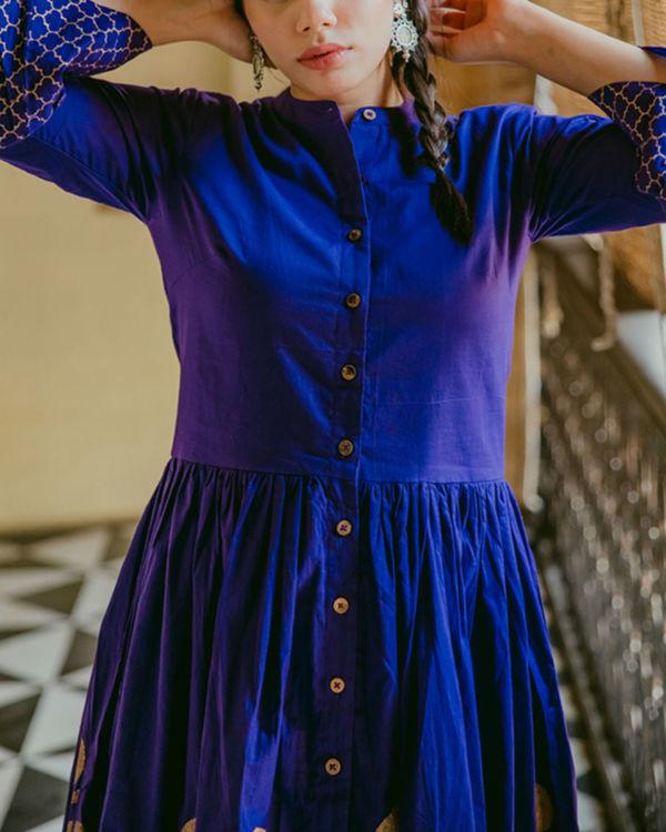 Purple maxi dress 1