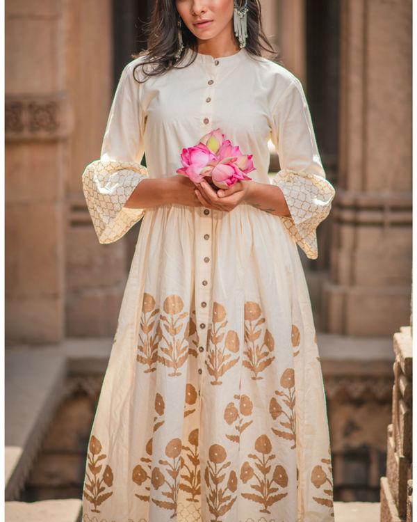 Ivory maxi dress 2