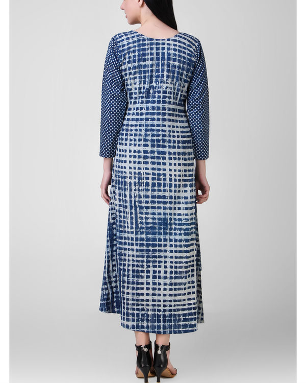 Indigo dabu dress 2