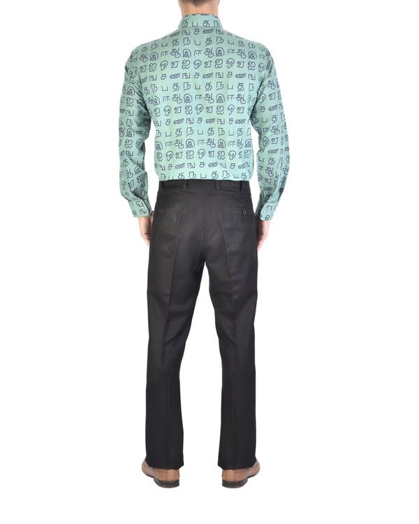 Cotton printed full-sleeves shirt 2