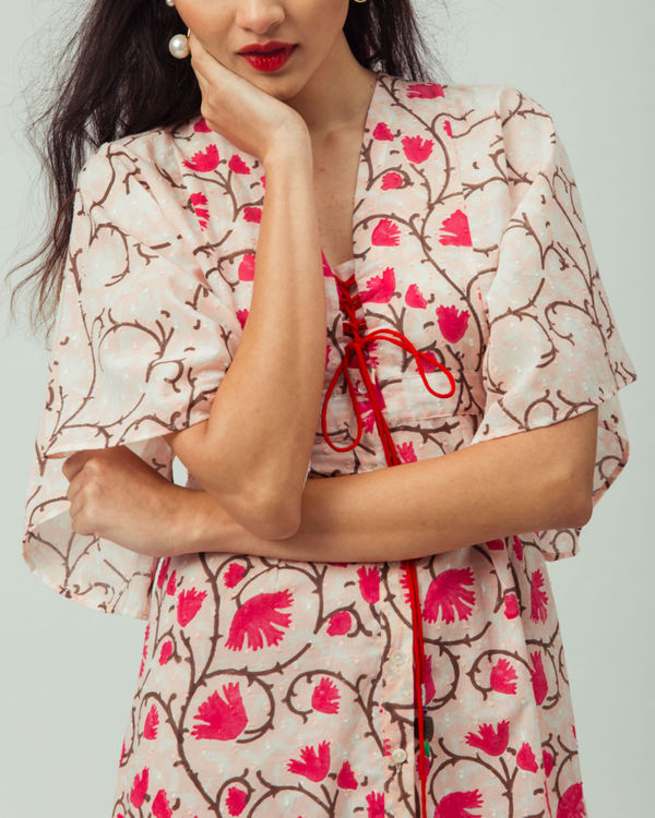 Cherry Blossom Kimono Dress 2
