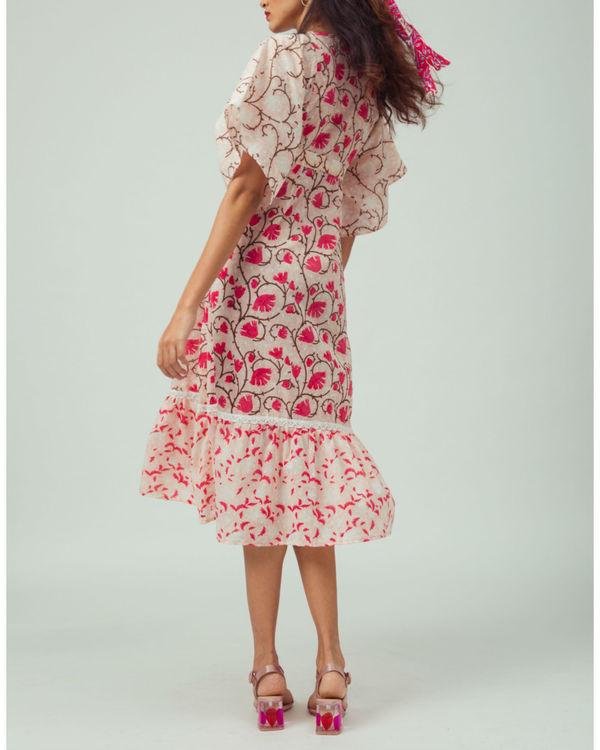 Cherry Blossom Kimono Dress 1