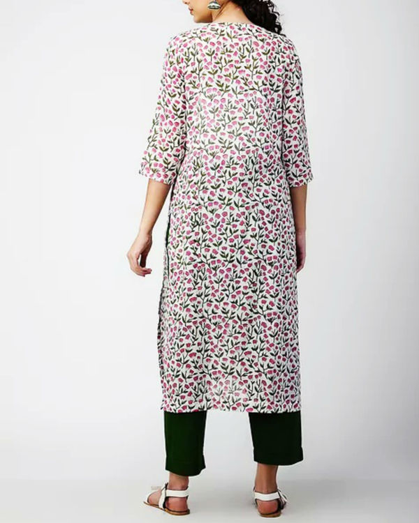 Dual Patch Side Slit Kurta 1