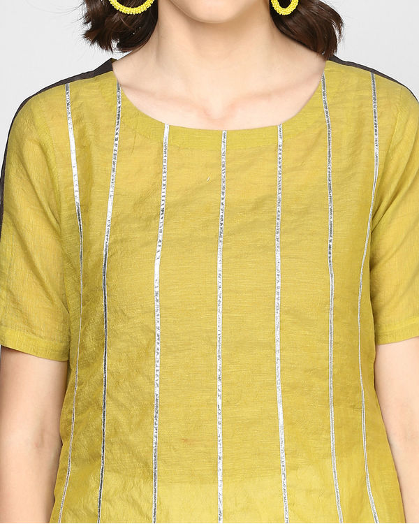 Olive flow tunic 1