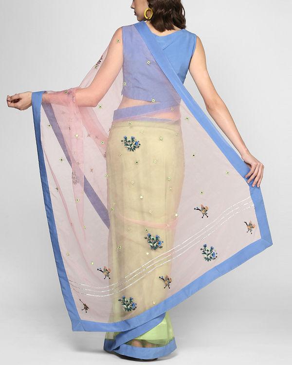 Sorbet stitched sari 2