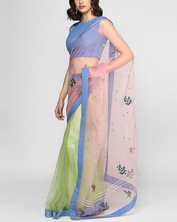 Sorbet stitched sari 1