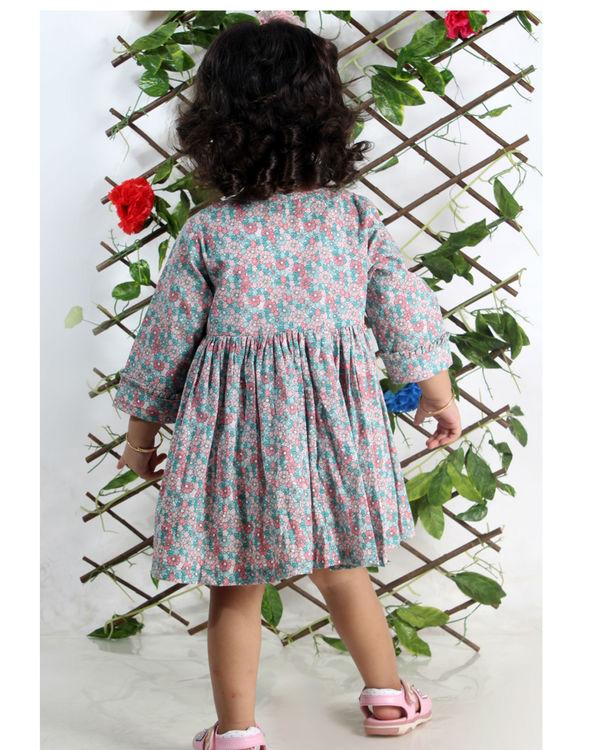 Pastel floral dress 1