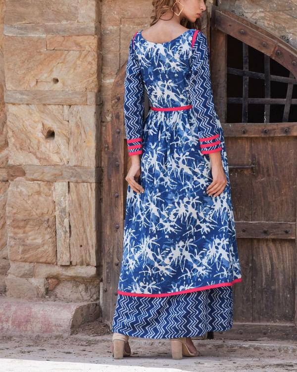 Indigo Double Dress 1