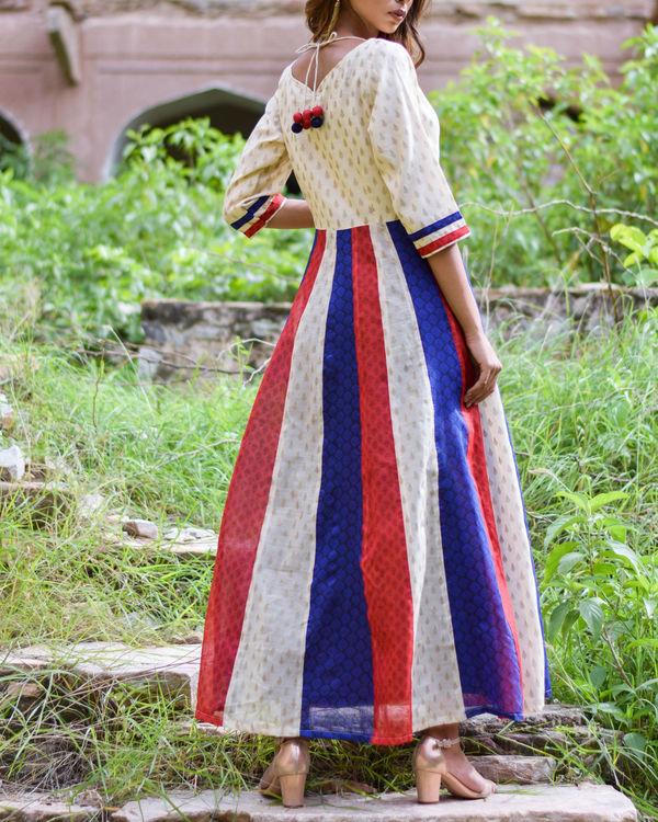 Multi Kali Tassel Dress 1