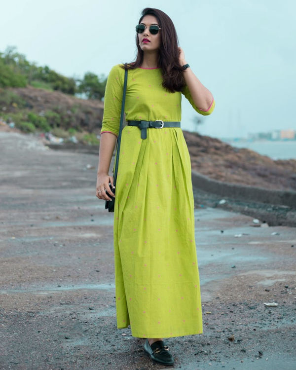 Lime Dress 1
