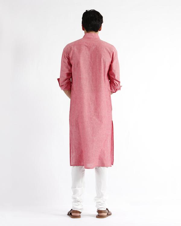 Handloom cotton drop shoulder kurta 2