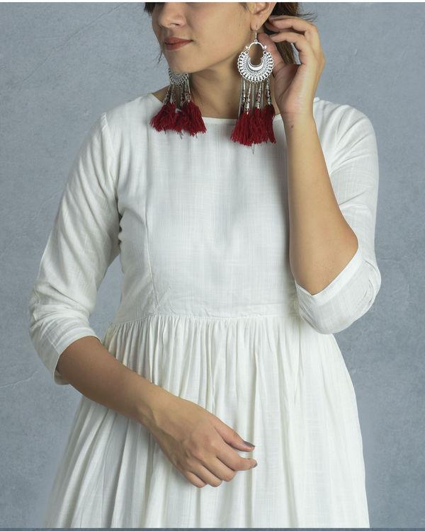 White floral dress 1