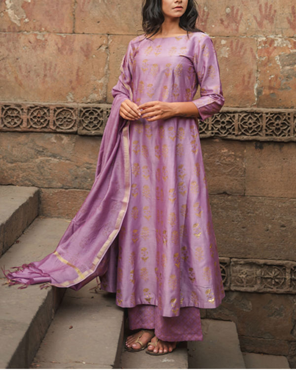 Mehar Ghera Kurta Set with Dupatta 1