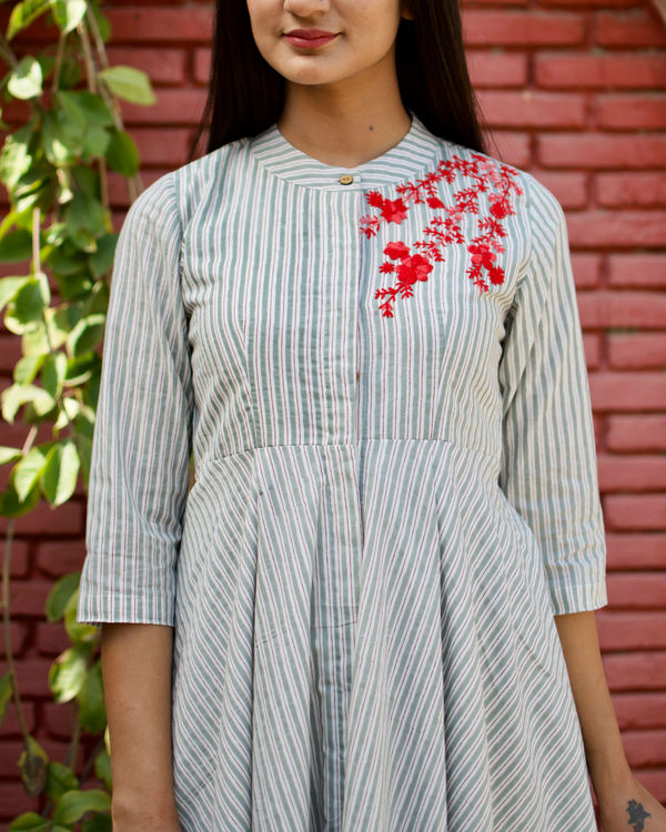 Stripes Flare Dress 1