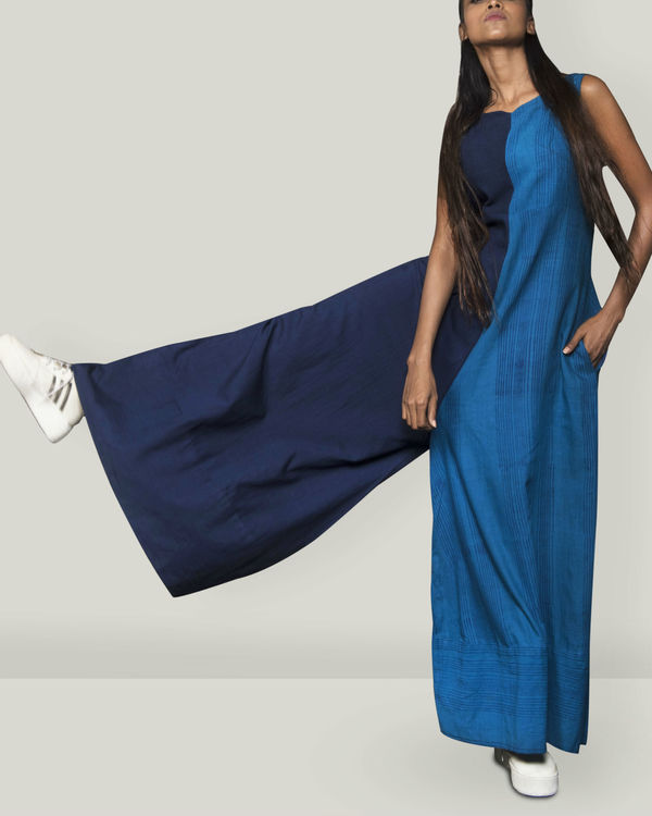 Shades of Blue jumpsuit 1