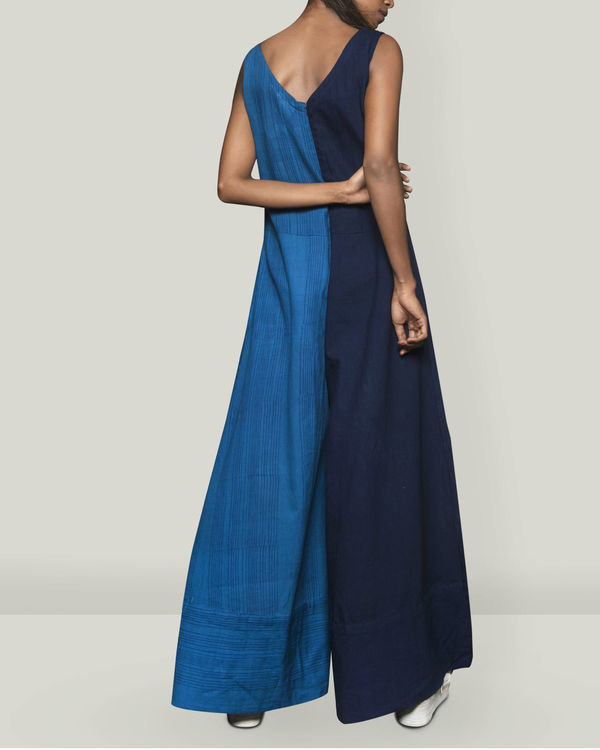 Shades of Blue jumpsuit 3