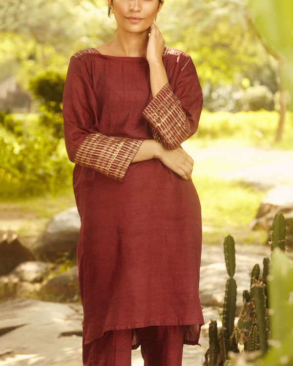 Mulberry gold sleeve tunic 2