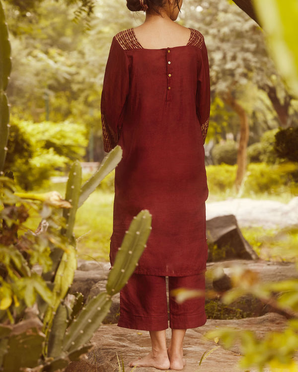 Mulberry gold sleeve tunic 1