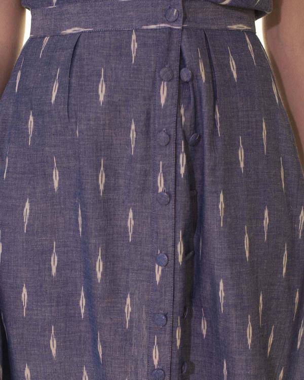 Vintage style double button dress 3