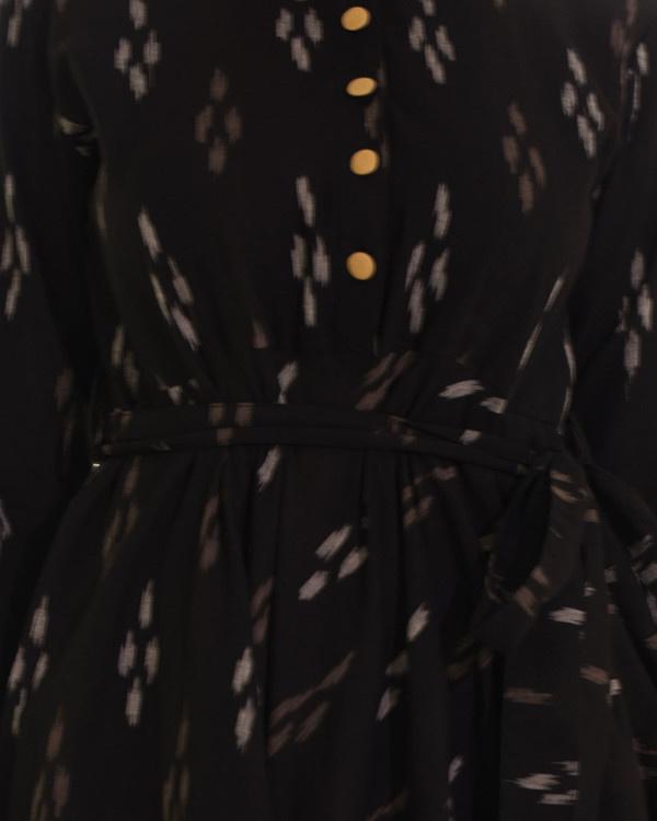 Vintage tie up shirt dress 3