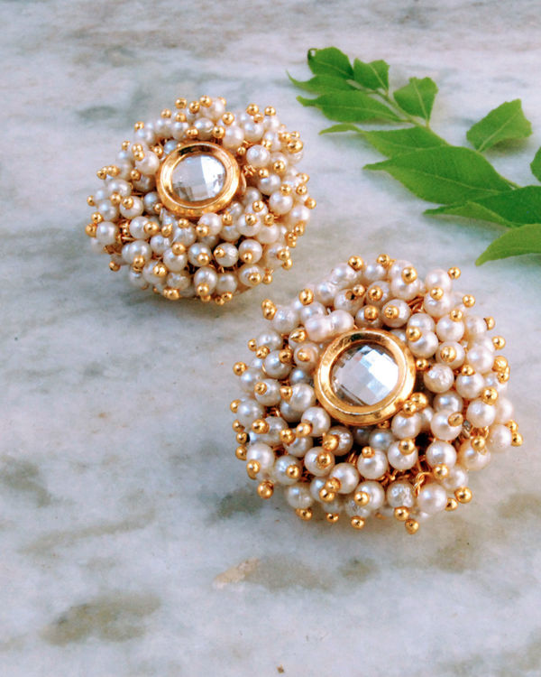 Garden of Pearl Earrings 1