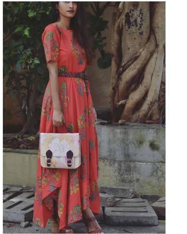 RED ART DRESS 1