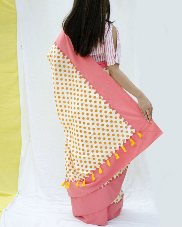 Candy crush polka sari 1