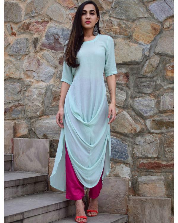Tiffany cowl dress 1